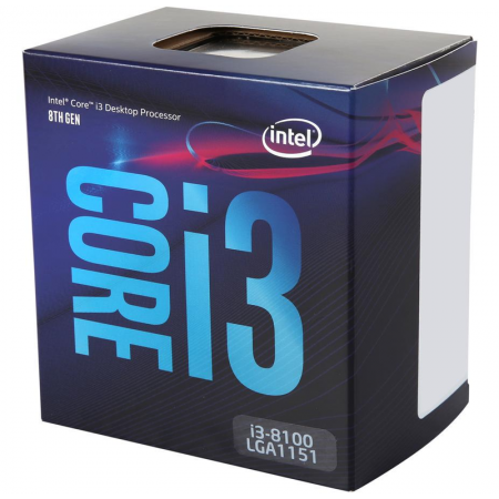 PROCESADOR INTEL CORE i3-8100 3.6 Ghz LGA 1151