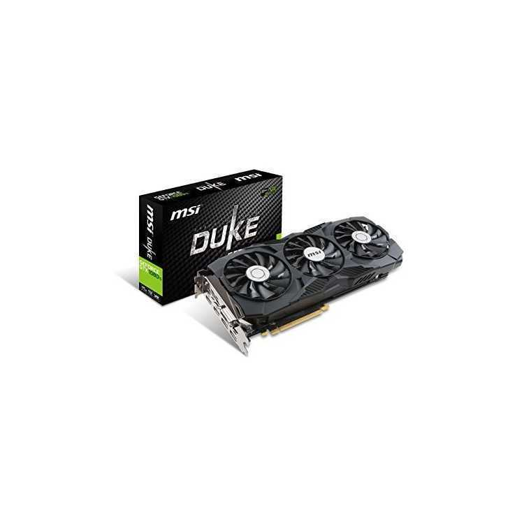 MSI GeForce GTX 1080 Ti DirectX 12 GTX 1080 Ti DUKE 11G OC 11GB 352-Bit  GDDR5 - PC Gaming CR