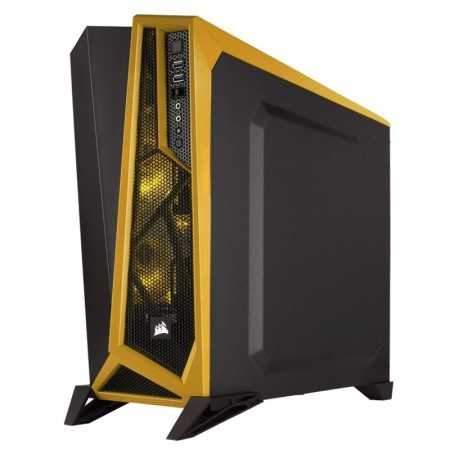 CASE CORSAIR CARBIDE SPEC-ALPHA NEGRO-AMARILLO