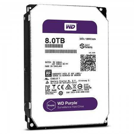 HDD SATA 8 TERA WD PURPLE