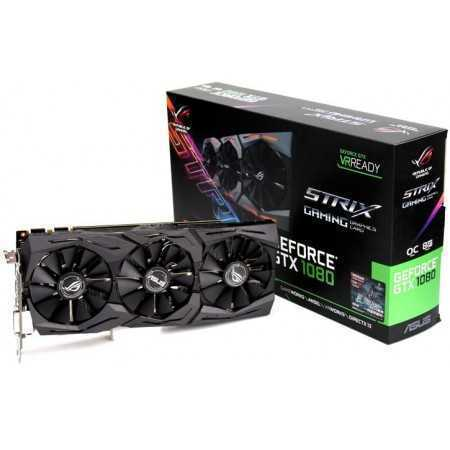 TARJETA DE VIDEO 8 GB ASUS STRIX-GTX1080-A8G-GAMING 8GB