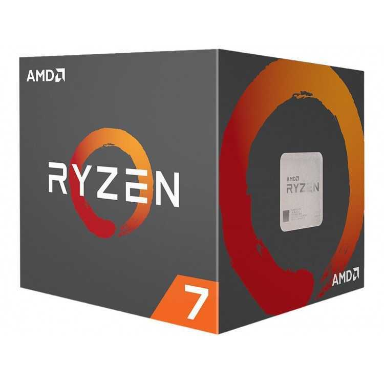 AMD RYZEN 7 2700X 8-Core 3.7 GHz (4.3 GHz Max Boost) Socket AM4 105W   Home