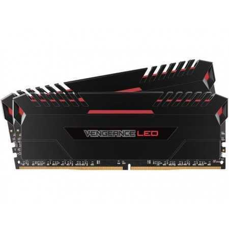 MEMORIA DDR4 16 GB 2666 KIT 2X8 CORSAIR VENGEANCE LED