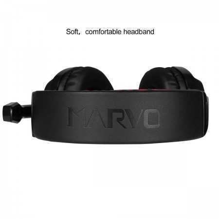 AURICULAR GAMING MARVO SCORPION STEEL H8329