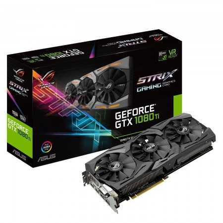 11 GB ASUS ROG-STRIX-GTX1080TI-11G-GAMING