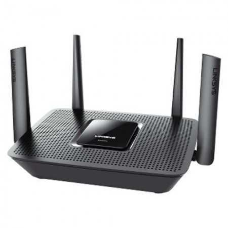 Linksys Max-Stream AC2200 Tri-Band Wi-Fi Gigabit Router - Gray (EA8300)