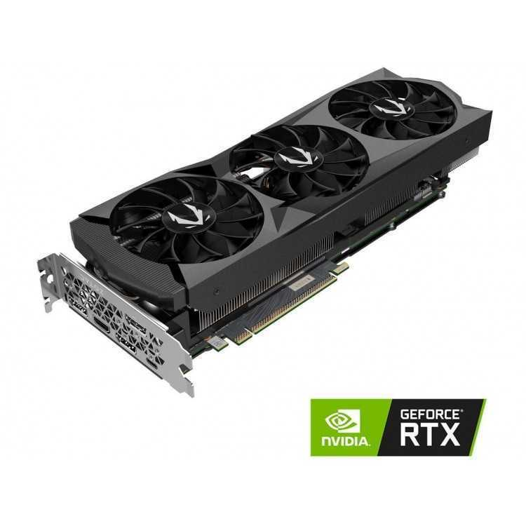 ZOTAC GAMING GeForce RTX 2080 AMP 8GB GDDR6 256-bit Gaming Graphics Card, Active Fan Control, Metal Backplate, Spectra Lighti...