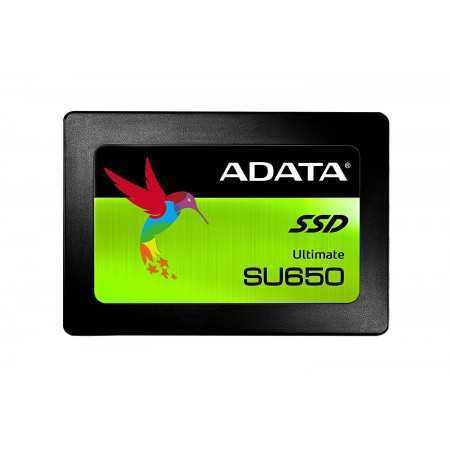 "ADATA SU650 480GB 3D-NAND 2.5"" SATA III High Speed Read"