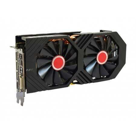 XFX Radeon RX 590 Fatboy DirectX 12 RX-590P8DFD6 8GB 256-Bit DDR5 PCI Express 3.0 CrossFireX Support Video Card