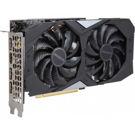 GIGABYTE GeForce GTX 1660 Ti DirectX 12 GV-N166TOC-6GD 6GB 192-Bit GDDR6 PCI Express 3.0 x16 Video Card