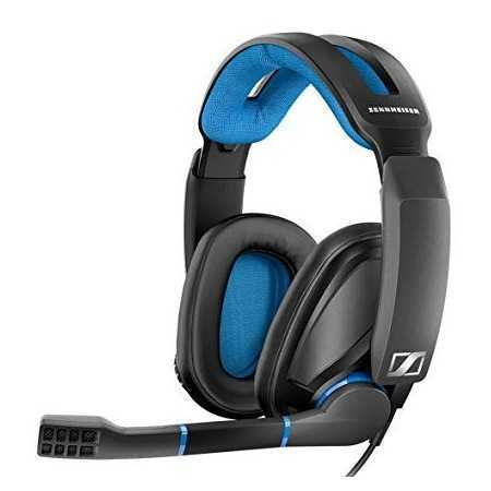 Sennheiser GSP 300 Split Gaming Headset for PC - Black/Blue