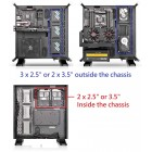 CASE THERMALTAKE CORE PR TG BLACK TEMPERED GLADD   Home
