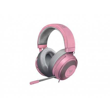 Razer Kraken Pro V2: Lightweight Aluminum Headband - Retractable Mic - In-Line Remote - Gaming Headset