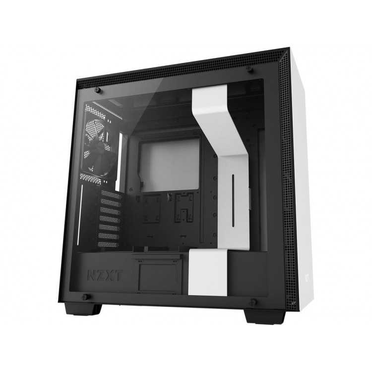 NZXT H700 - ATX Mid-Tower PC Gaming Case - Tempered Glass Panel Home