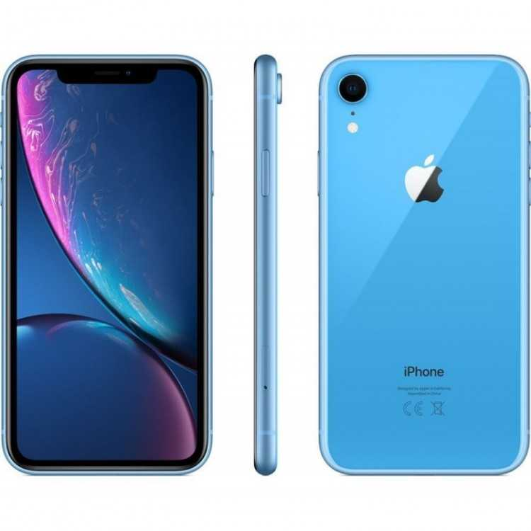 Unlocked Apple iPhone XR 128GB iOS Smartphone - Blue (MT092LL/A)   Home