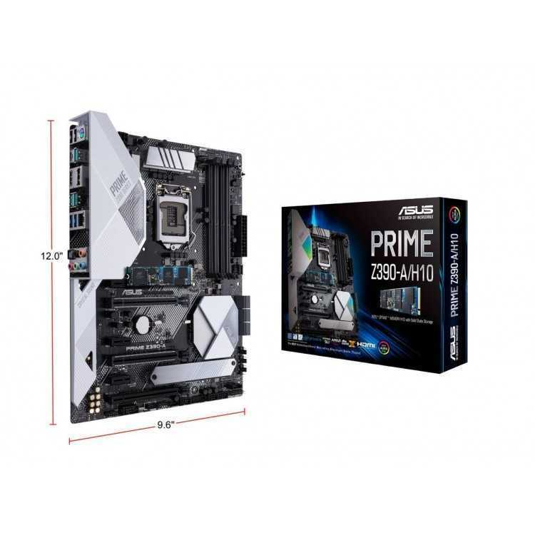 ASUS Prime Z390-A/H10 Motherboard Bundled Intel Optane Memory