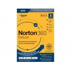 NEW Norton 360 Deluxe - Antivirus Software for 5 Devices [Key Card]   Home