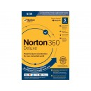 NEW Norton 360 Deluxe - Antivirus Software for 5 Devices  [Key Card]