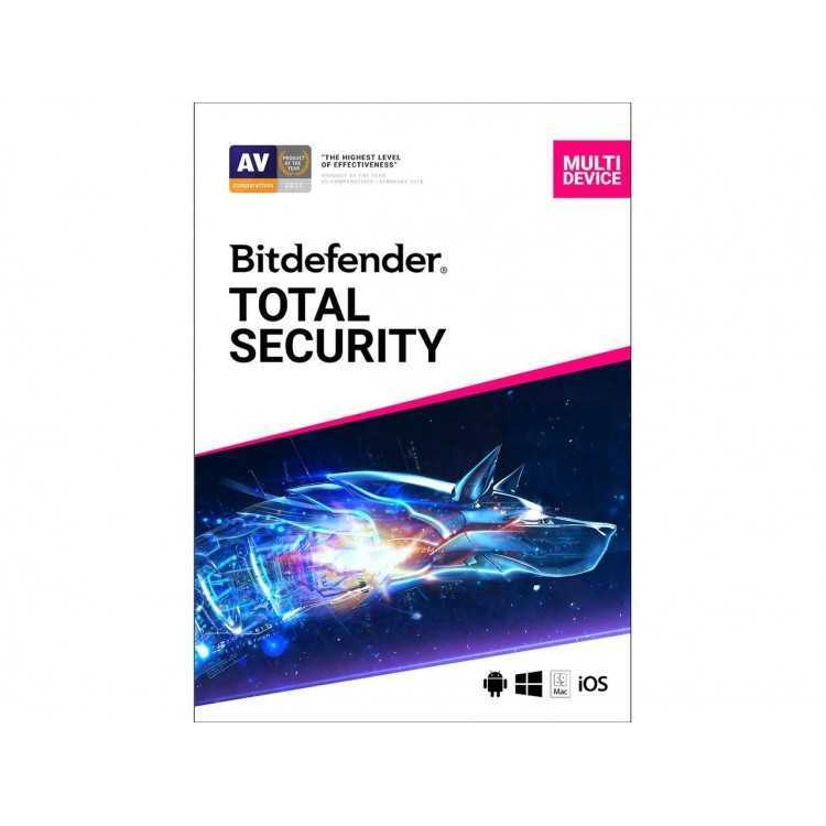Bitdefender Total Security 2020 5 - Device/1 Year