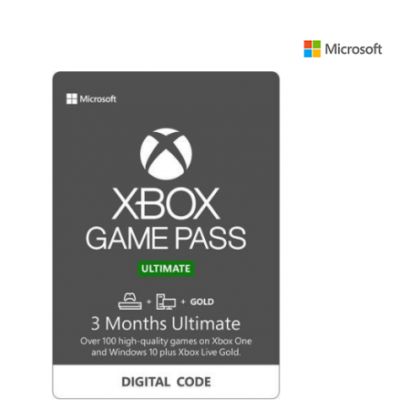 Xbox Game Pass Ultimate 3 Month Membership US [Digital Code]