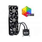 EVGA CLC 360 400-HY-CL36-V1 All-In-One RGB LED CPU Liquid Cooler, 3x FX12 120mm   Home