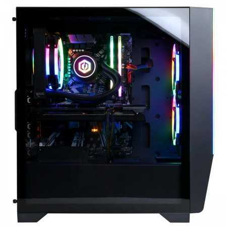 CyberPowerPC Gamer Supreme Gaming Desktop Computer, Intel Core i7-9700K 3.6GHz, 16GB RAM, 500GB SSD + 1TB HDD, RX 5600 XT 6GB