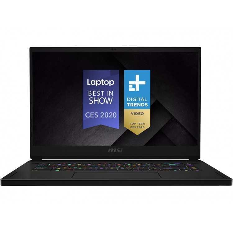 """MSI GS66 Stealth 10SFS-032, 15.6\\"""" Gaming Laptop, Intel Core i9-10980HK, RTX 2070   Home"""