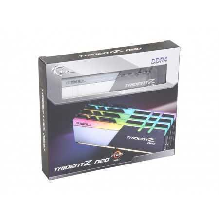 G.SKILL Trident Z Neo (For AMD Ryzen) Series 64GB (4 x 16GB) 288-Pin RGB DDR4 SDRAM DDR4 3000