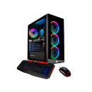 iBUYPOWER Element MR 9700V2 Gaming , AMD Ryzen 3 3100, 8GB DDR4 2666 MHz, Radeon RX570 4GB, 1TB 7200RPM + 240GB SSD