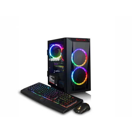 CLX SET GAMING AMD Ryzen 5 2600 3.4GHz, NVIDIA GeForce GTX 1660Ti 6GB, 16GB Mem, 120 SSD + 1TB HDD