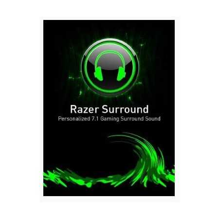 7.1 Surround Sound Razer Key [DIGITAL CODE]
