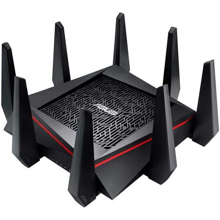 ASUS AC5300 Wi-Fi Tri-band Gigabit Wireless Router with 4x4 MU-MIMO, (RT-AC5300)   Home