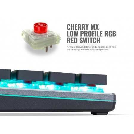Cooler Master SK630 Tenkeyless Mechanical Keyboard with Cherry MX Low Profile Switches