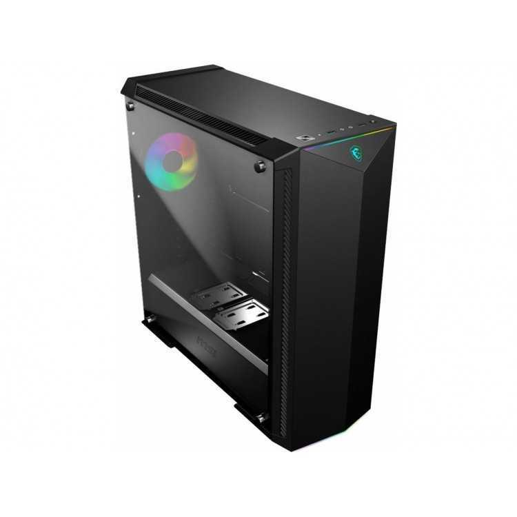 MSI - MPG GUNGNIR eATX Mid-Tower Case Home