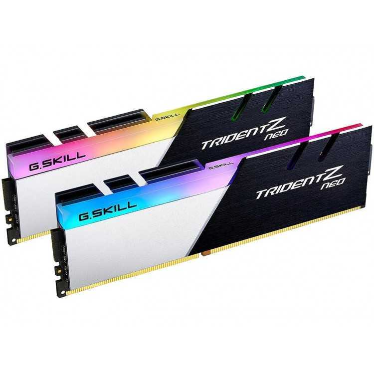 G.SKILL Trident Z Neo (For AMD Ryzen) Series 32GB (2 x 16GB) 288-Pin RGB DDR4 SDRAM DDR4 3600 Home