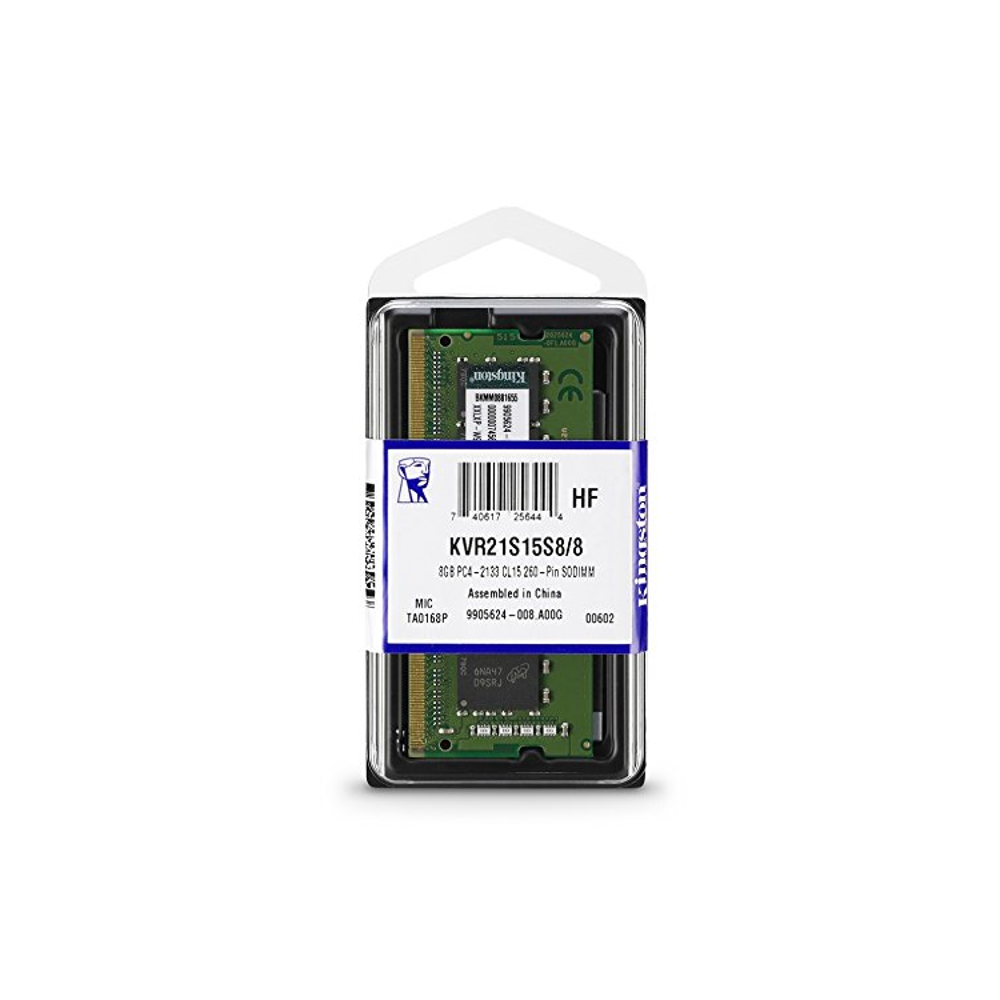 RAM 8GB DDR4 2133MHZ KINGSTON KVR21S15S8/8
