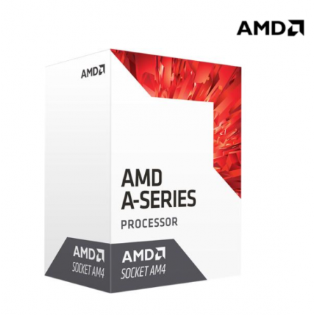 AMD A8-9600 Quad-Core 3.1 GHz Socket AM4 65W AD9600AGABBOX Radeon R7