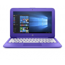 "HP Stream 11.6"" Laptop 1.6GHz 4GB 32GB Win 10 Home - Purple (11-y020nr)"