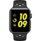 Apple Aluminum Case with Nike Sport Band Smart Watch - Gray